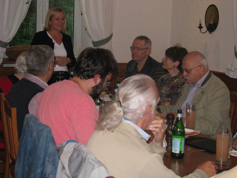 03.05.2017 Stammtisch mit Mdl Doris Rauscher, Bild 1